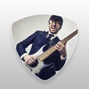 bass enkelsidigt tryck
