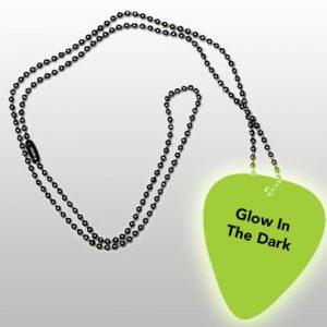 glowinthedark-plectrum-ketting