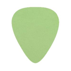 Delrin Plektrum - Grön