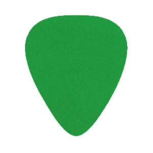 Nylon Plektrum - Grön