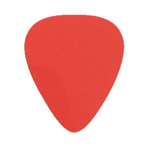 Nylon Plektrum - Röd