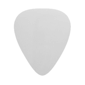 Nylon Plektrum - Vit