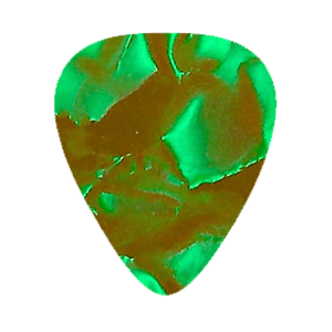 Vintage Plektrum – Grön