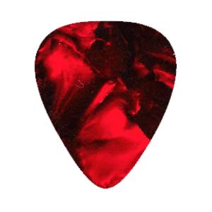 Vintage Plektrum – Röd