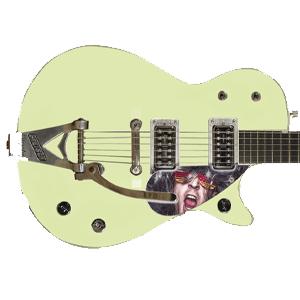 Gitarr Pickguard - Tryck på - ES335