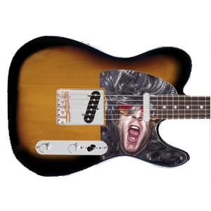 Gitarr Pickguard - Tryck på - Tele